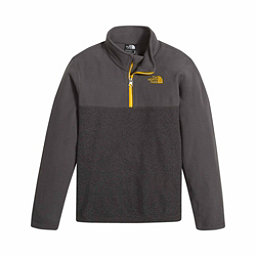 The North Face Glacier 1/4 Zip Kids Midlayer, TNF Dark Grey Heather, 256