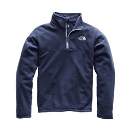 The North Face Glacier 1/4 Zip Kids Midlayer, Cosmic Blue, 256