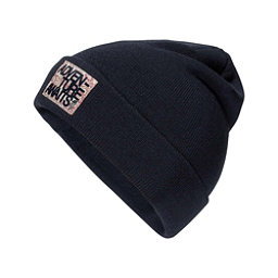 The North Face Dock Worker Beanie Kids Hat, Cosmic Blue-TNF Red, 256