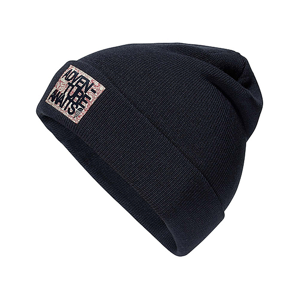 The North Face Dock Worker Beanie Kids Hat (Previous Season), Cosmic Blue-TNF Red, 600