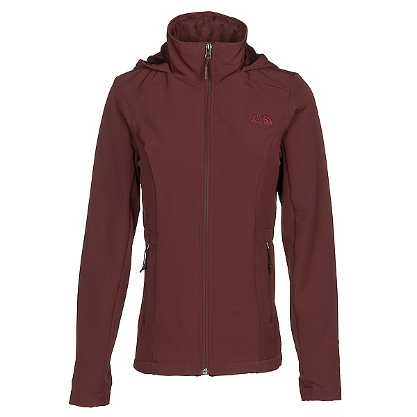 The North Face Shelbe Raschel Hoodie Womens Soft Shell Jacket (Previous Season), Sequoia Red, 600