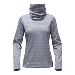 The North Face Novelty Glacier Pullover Womens Mid Layer, Mid Grey Stria, 256