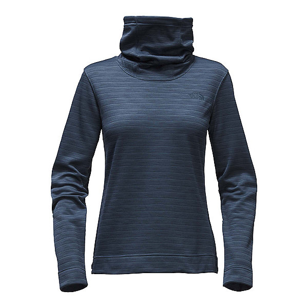 The North Face Novelty Glacier Pullover Womens Mid Layer, Ink Blue Stria, 600