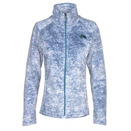 The North Face Novelty Osito Womens Jacket, Provincial Blue Marble Print, 256
