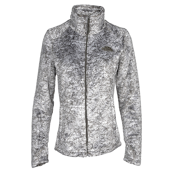 The North Face Novelty Osito Womens Jacket, New Taupe Green Marble Print, 600