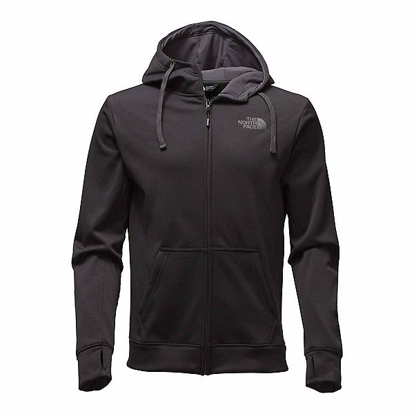 The North Face Surgent LFC Full Zip Mens Hoodie, TNF Black-Asphalt Grey, 600