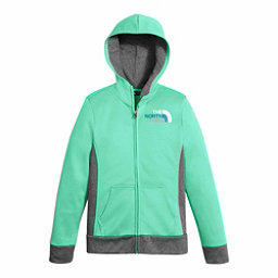 The North Face Surgent Full Zip Kids Hoodie, Bermuda Green, 256