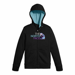 The North Face Surgent Full Zip Kids Hoodie, TNF Black, 256