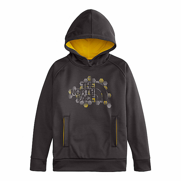 The North Face Boys Surgent Pullover Kids Hoodie (Previous Season), Graphite Grey, 600