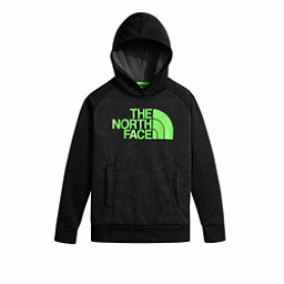 The North Face Boys Surgent Pullover Kids Hoodie, TNF Black Topo Print, 256