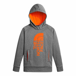 The North Face Boys Surgent Pullover Kids Hoodie, TNF Medium Grey Heather-Power, 256