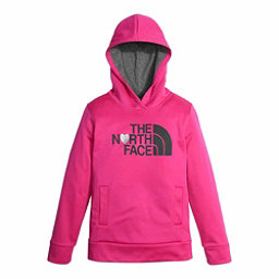 The North Face Girls Surgent Pullover Kids Hoodie, Petticoat Pink, 256