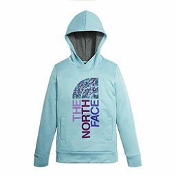 The North Face Girls Surgent Pullover Kids Hoodie, Nimbus Blue, 256