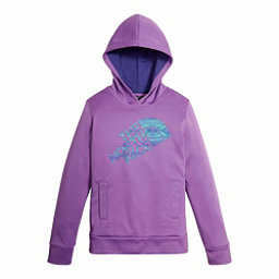 The North Face Girls Surgent Pullover Kids Hoodie, Bellflower Purple, 256