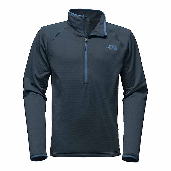 The North Face Borod 1/4 Zip Mens Mid Layer, Urban Navy, 600