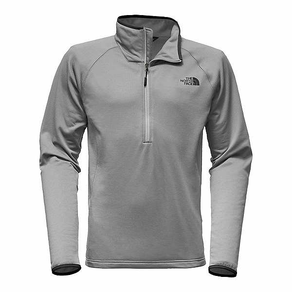 The North Face Borod 1/4 Zip Mens Mid Layer, Monument Grey, 600