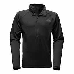 The North Face Borod 1/4 Zip Mens Mid Layer, TNF Black, 256