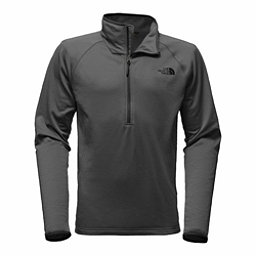 The North Face Borod 1/4 Zip Mens Mid Layer, Asphalt Grey, 256