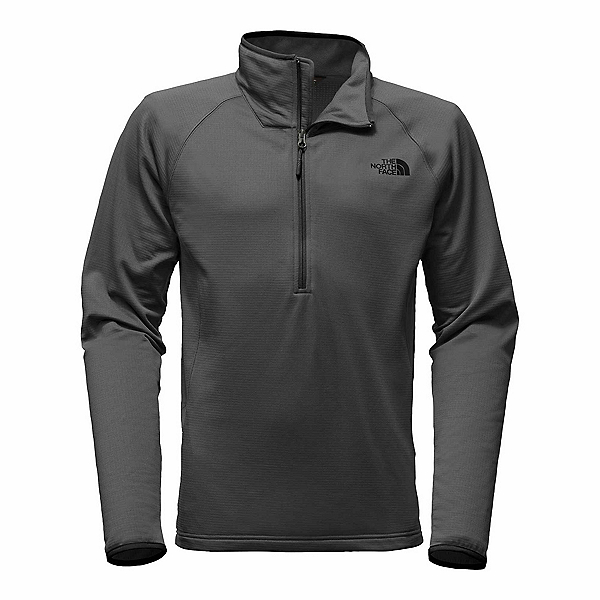 The North Face Borod 1/4 Zip Mens Mid Layer, Asphalt Grey, 600