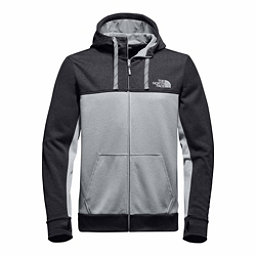 The North Face Surgent Block Full Zip Mens Hoodie, TNF Dark Grey Heather-High Ris, 256