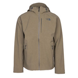 The North Face Apex Flex GTX Mens Shell Ski Jacket, Burnt Olive Green Heather, 256