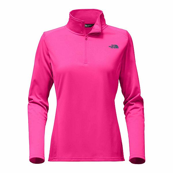 The North Face Tech Glacier 1/4 Zip Womens Mid Layer (Previous Season), Petticoat Pink, 600