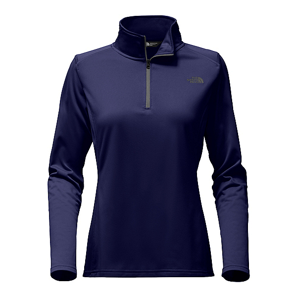 The North Face Tech Glacier 1/4 Zip Womens Mid Layer, Urban Navy, 600