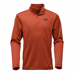 The North Face Tech Glacier 1/4 Zip Mens Mid Layer, Brandy Brown, 256