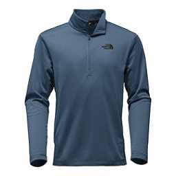 The North Face Tech Glacier 1/4 Zip Mens Mid Layer, Shady Blue, 256
