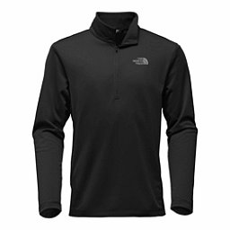 The North Face Tech Glacier 1/4 Zip Mens Mid Layer, TNF Black, 256