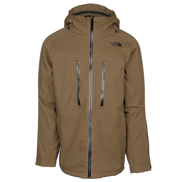 The North Face Chakal Mens Insulated Ski Jacket, Military Olive, 600