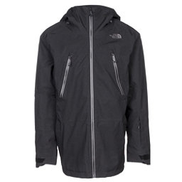 The North Face Lostrail Mens Shell Ski Jacket, TNF Black, 256