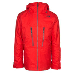 The North Face ThermoBall Snow Triclimate Mens Insulated Ski Jacket, Centennial Red, 256