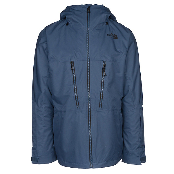 The North Face ThermoBall Snow Triclimate Mens Insulated Ski Jacket, Shady Blue, 600