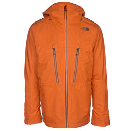 The North Face ThermoBall Snow Triclimate Mens Insulated Ski Jacket, Hawaiian Sunset Orange, 256
