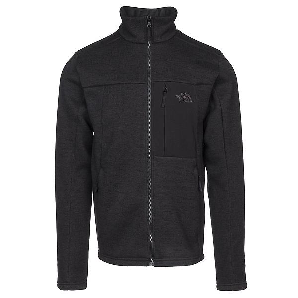 The North Face Solmore Fleece Mens Jacket, Asphalt Grey Dark Heather, 600