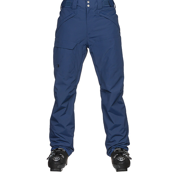 The North Face Freedom Insulated Mens Ski Pants, Shady Blue, 600