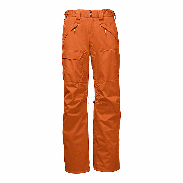The North Face Freedom Insulated (Previous Season) Mens Ski Pants, Hawaiian Sunset Orange, 600