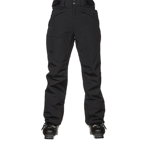 The North Face Freedom Insulated Mens Ski Pants, TNF Black, 600