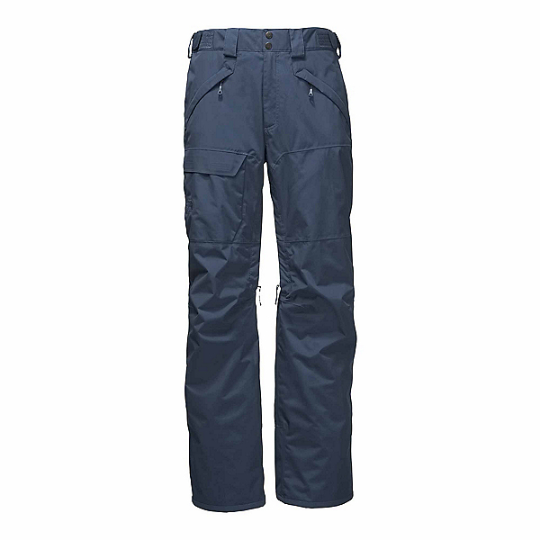 The North Face Freedom Insulated Long Mens Ski Pants, Shady Blue, 600