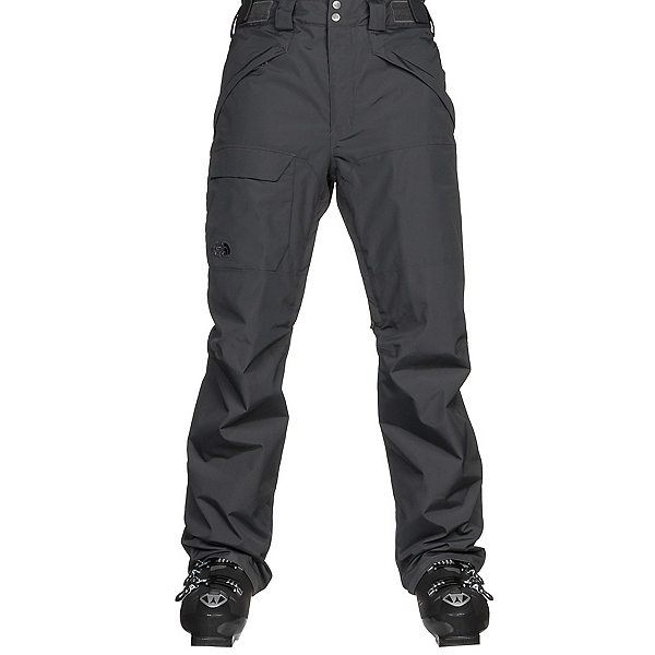 The North Face Freedom Mens Ski Pants, Asphalt Grey, 600