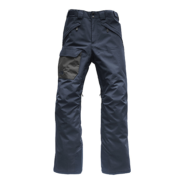 The North Face Freedom Short Mens Ski Pants, Urban Navy, 600