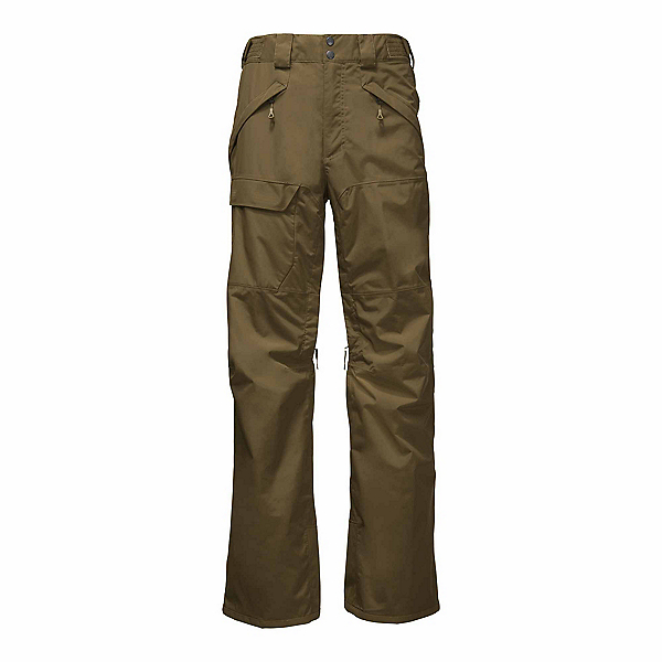 The North Face Freedom Long Mens Ski Pants, Military Olive, 600