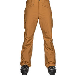 The North Face Straight Six Mens Ski Pants, Golden Brown, 256