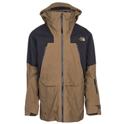 The North Face Purist Triclimate Mens Insulated Ski Jacket, Military Olive-TNF Black, 256