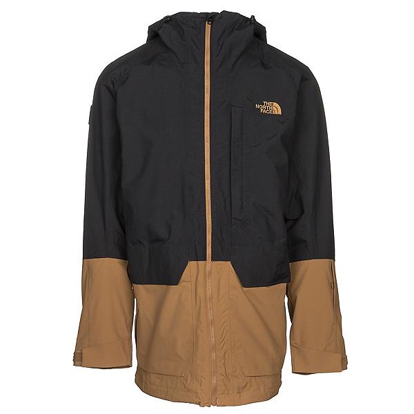 The North Face Repko Mens Insulated Ski Jacket, TNF Black-British Khaki, 600