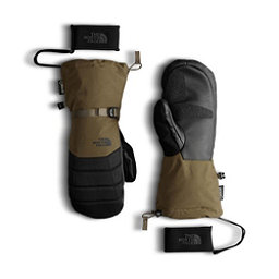 The North Face GORE-TEX Montana Mittens, Military Olive-TNF Black, 256