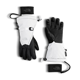 The North Face GORE-TEX Montana Womens Gloves, TNF White-TNF Black, 256