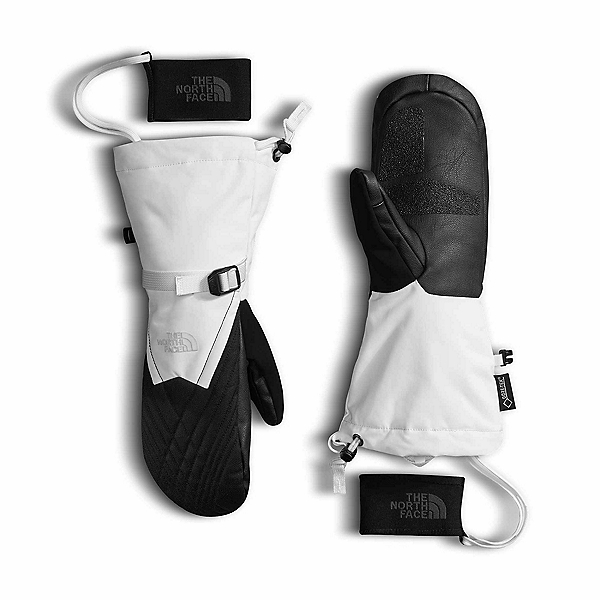 The North Face GORE-TEX Montana Womens Mittens, TNF White-TNF Black, 600