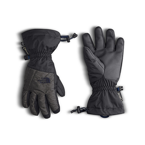 The North Face GORE-TEX Montana Kids Gloves, Graphite Grey-Cosmic Blue, 600